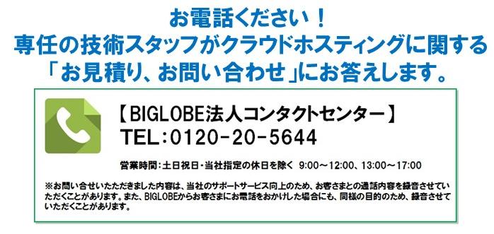 BIGLOBE電話