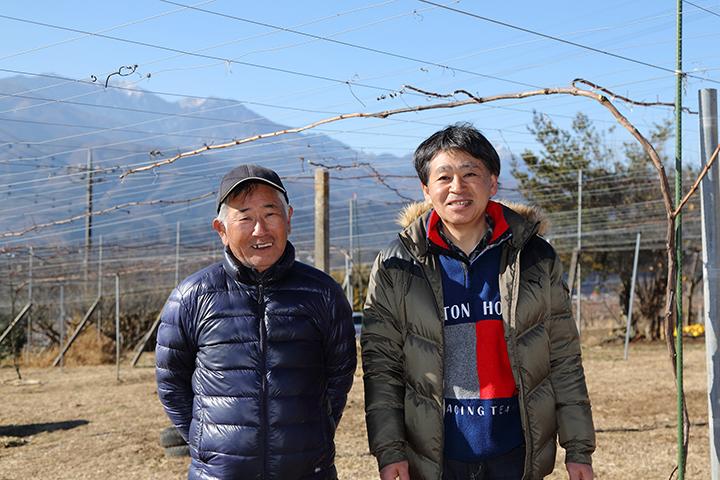 お話を伺った方:岩下忠士氏(左)、安部正彦氏(右)