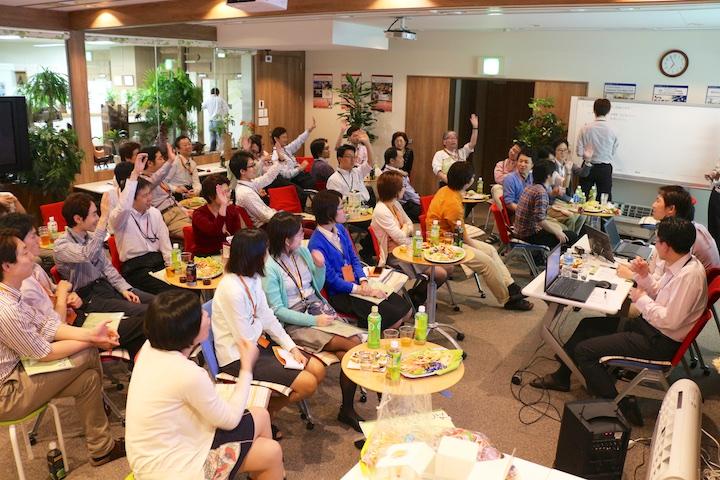 会社の重要な事柄を全社員で決める「MA(Meeting of All staff)」