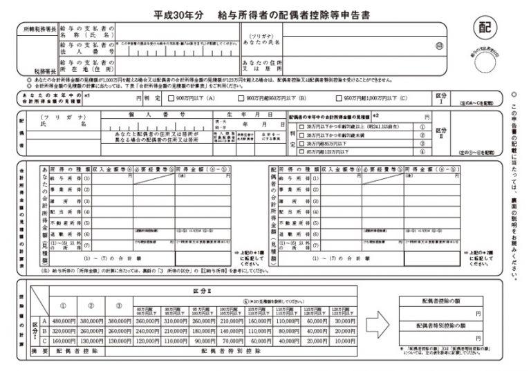 給与 所得 の 扶養 控除 等 申告 書 書き方
